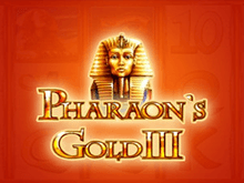 Pharaohs Gold III в казино Чемпион
