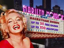 Способ игры в тематическом слоте Marilyn Monroe